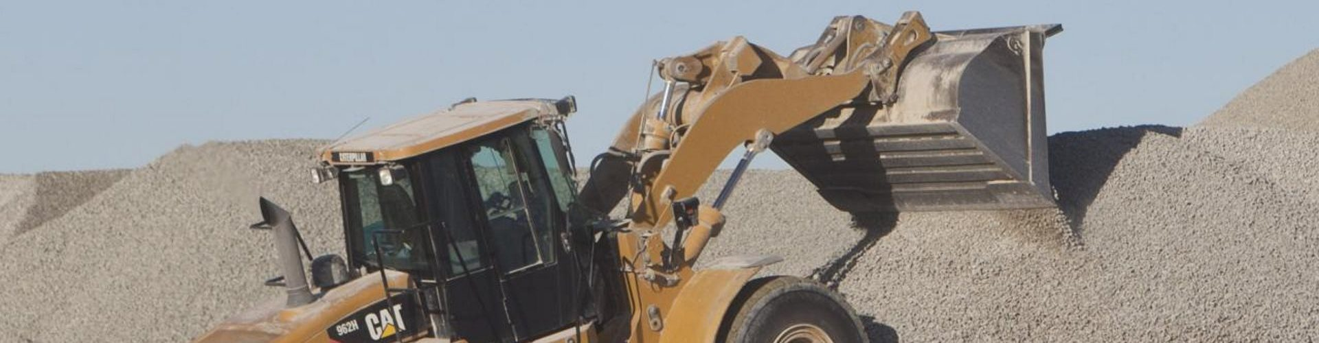 Bulldozer, payloader & wheelloader