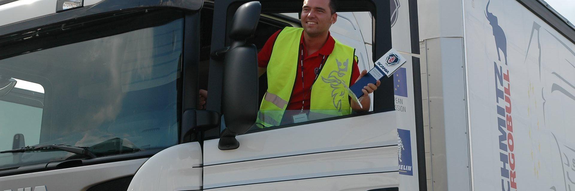 Vrachtwagen-chauffeurs