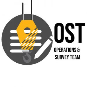 Operations and Survey team, ready to handle your cargo