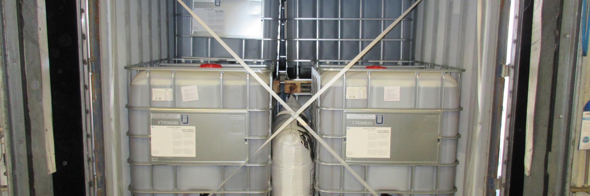 Veiligheid bij het stuffen en strippen van containers